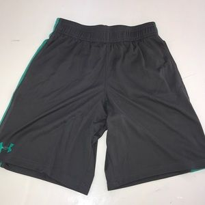 Little boys under armor shorts size youth small